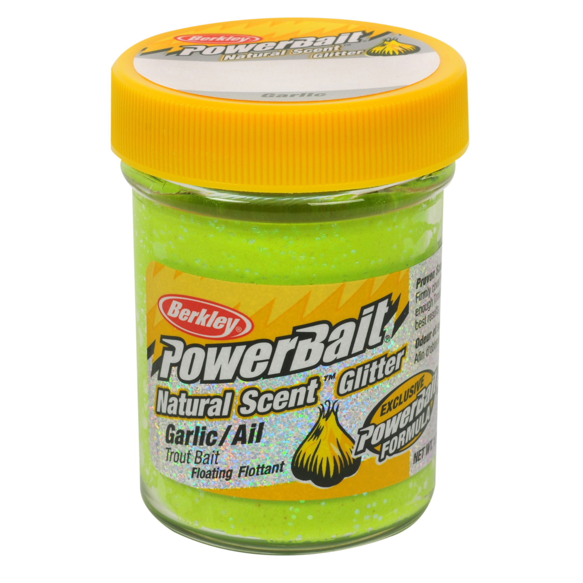 Powerbait natural glitter trout bait ebay for Fishing with powerbait
