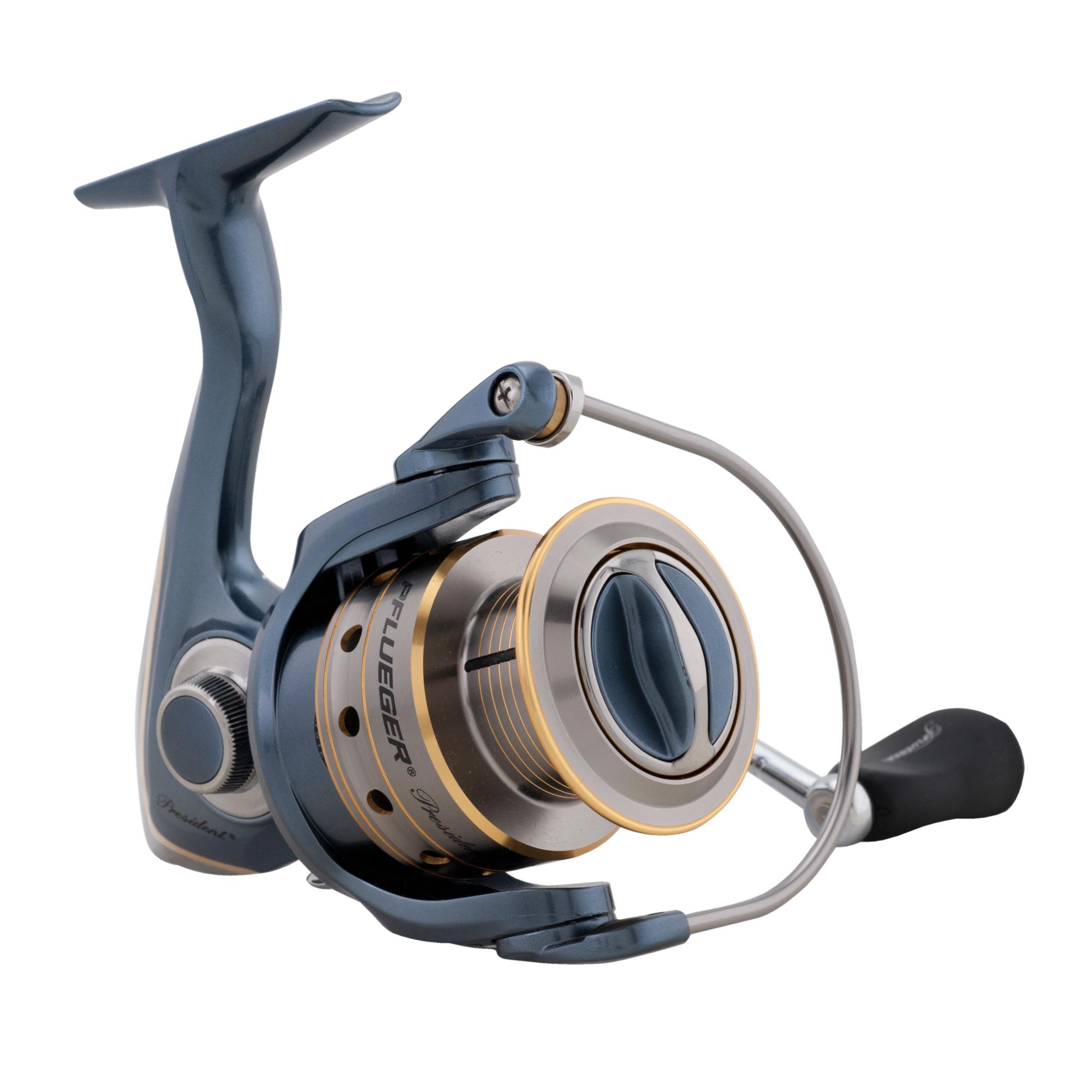 Pflueger president spinning reel ebay for Pflueger fishing reels