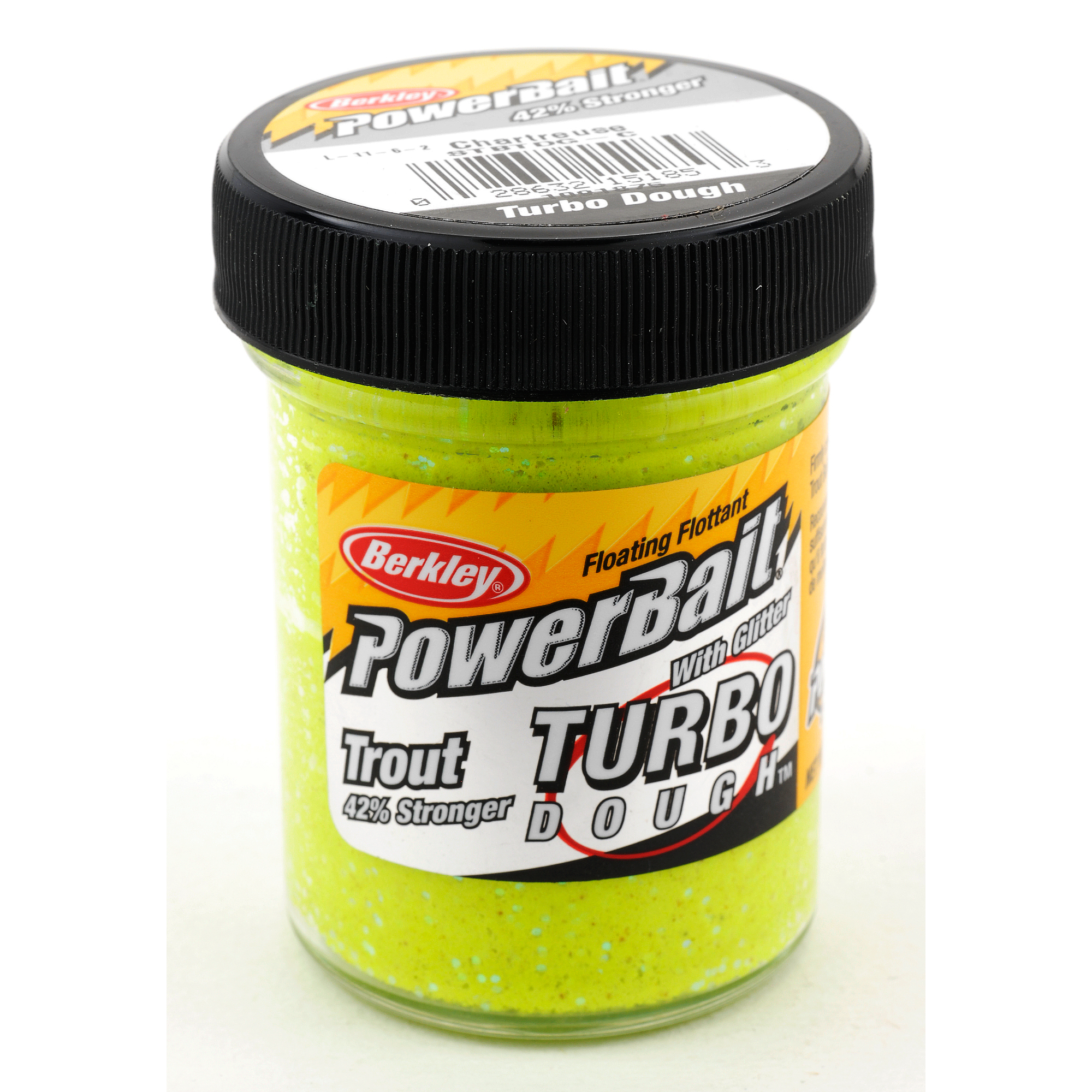 Powerbait glitter turbo dough ebay for Trout fishing with powerbait