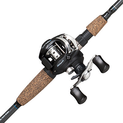 Shakespeare agility baitcast combo shakespeare for Youth fishing rod and reel combo