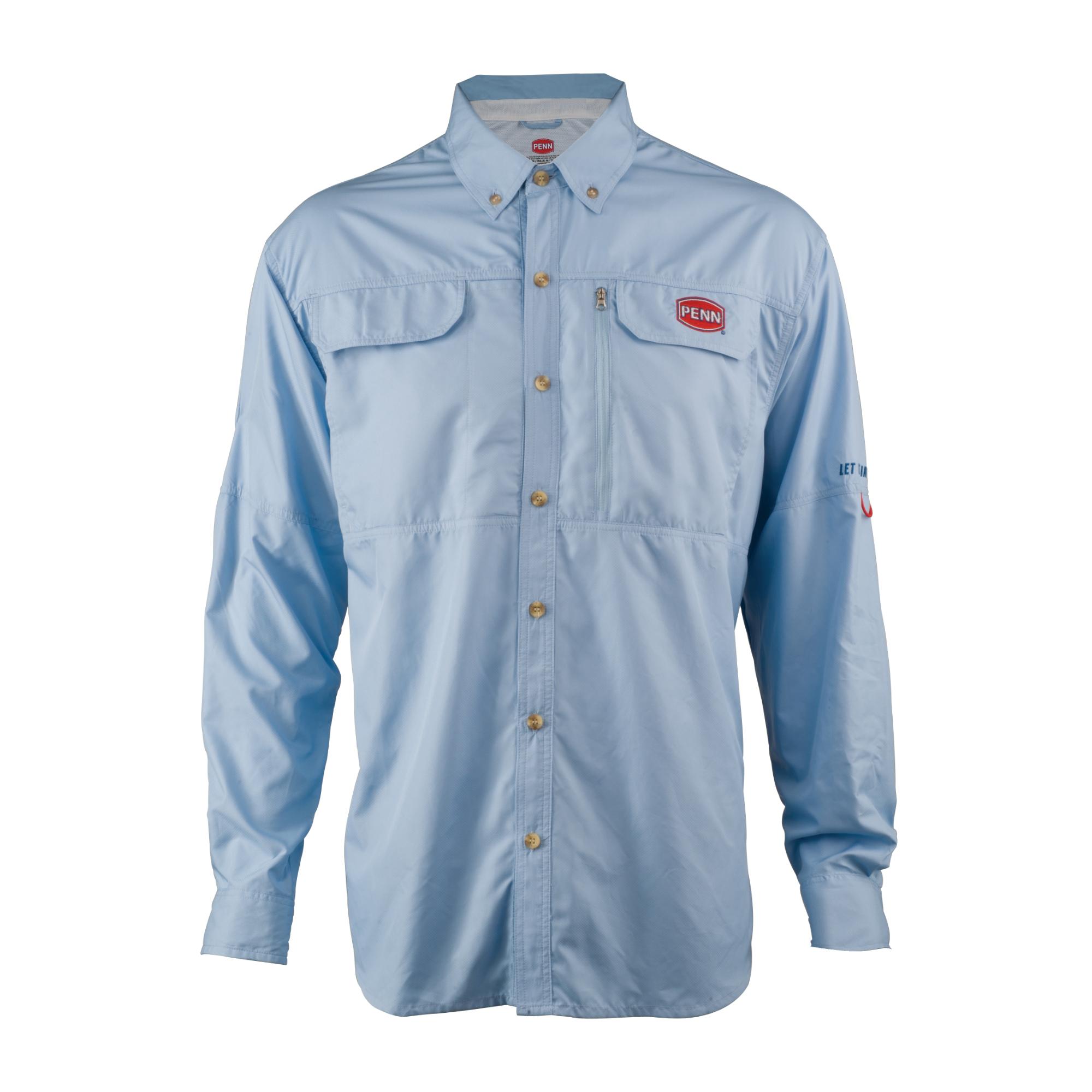 Penn vented performance shirts ebay for High performance fishing shirts