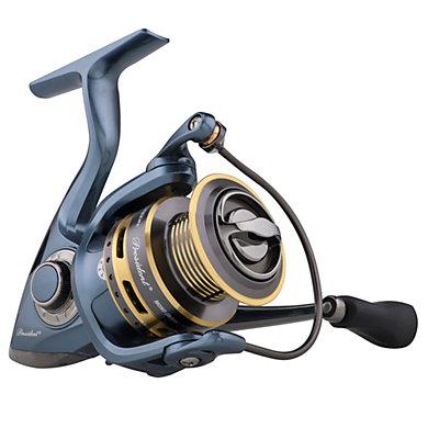 Pflueger president spinning reel pflueger for Open reel fishing
