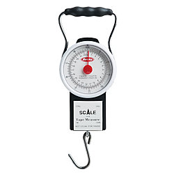 Berkley® Portable Scale With Tape -50 LB