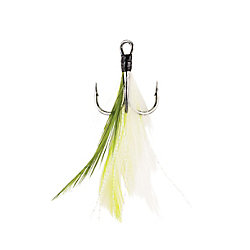 Berkley®Fusion19™ Feathered Treble Hooks