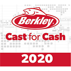 2020 Berkley® Cast for Cash Pro Pack