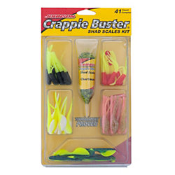 Johnson™ Crappie Buster Shad® Scales Kit