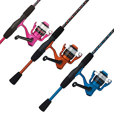 Shakespeare amphibian spinning combo shakespeare for Youth fishing rod and reel combo