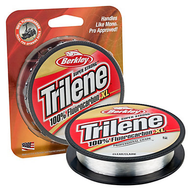 Trilene 100 fluorocarbon xl berkley for Berkley fishing com