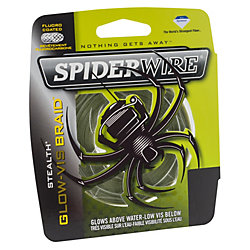 SpiderWire Stealth® Glow-Vis Braid™