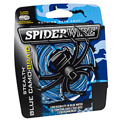 SpiderWire Stealth® Blue Camo