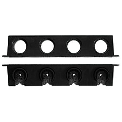 Berkley® Twist Lock Horizontal Rod Rack