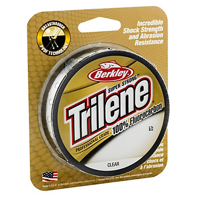 Berkley Trilene 100/% Fluocarbon Leader 25m 50m 150m 0,15mm-0,45mm
